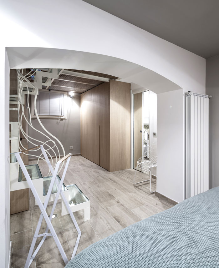 three level apartment milan 15