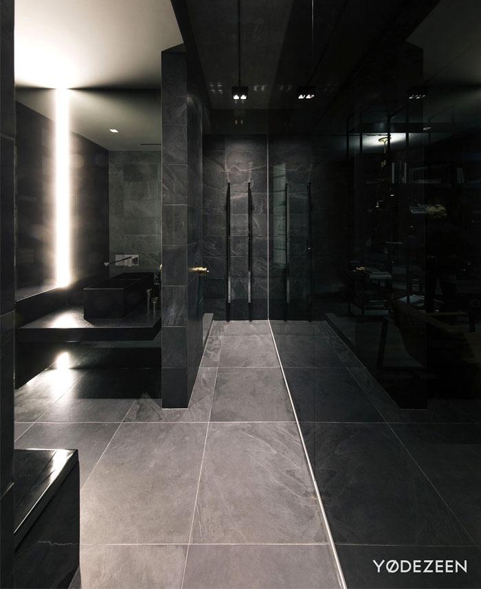 trendy dark bachelor apartment 24