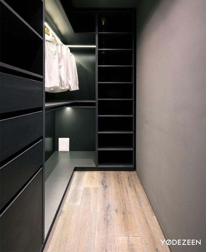 trendy dark bachelor apartment 25
