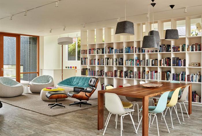 heliotrope architects home art studio 14