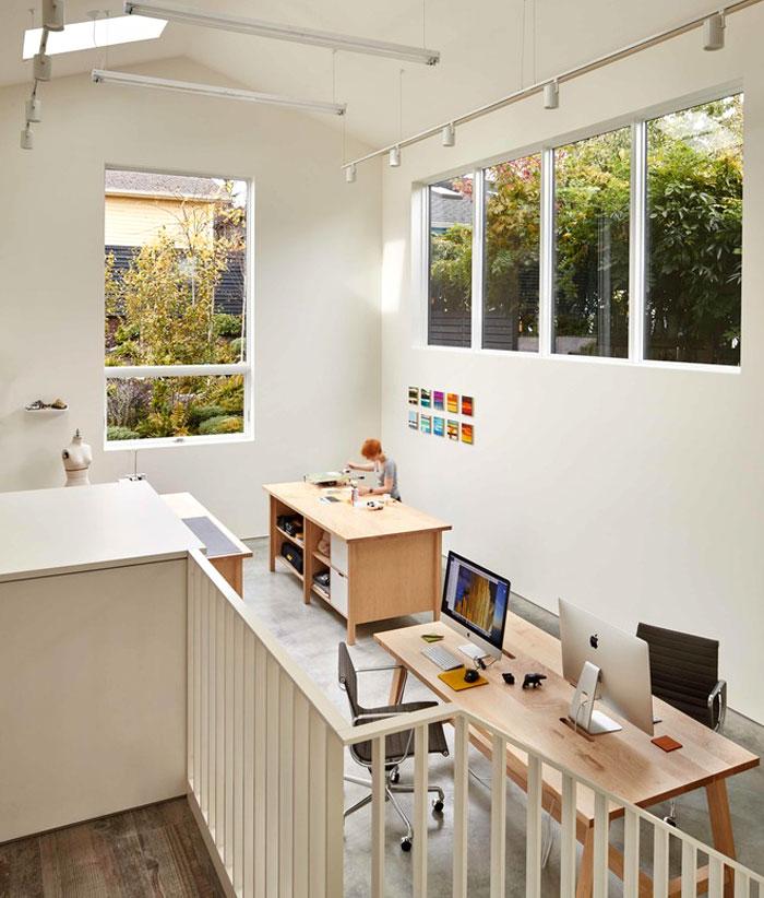 heliotrope architects home art studio 15