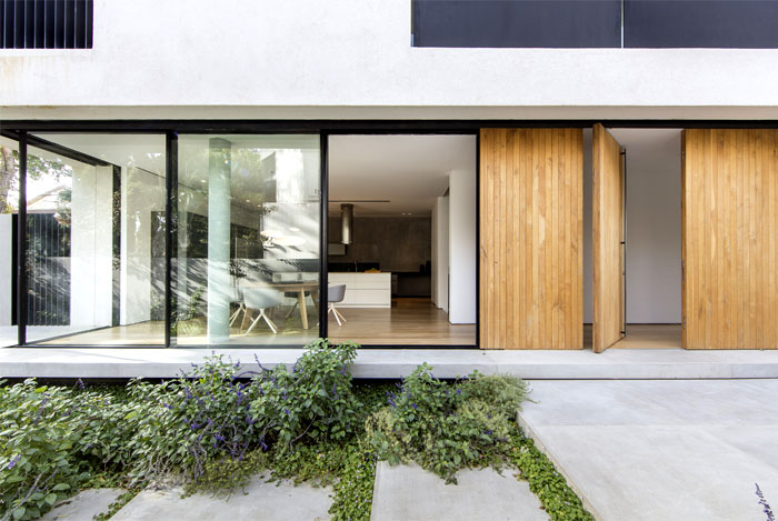 levin packer architects urban house 15