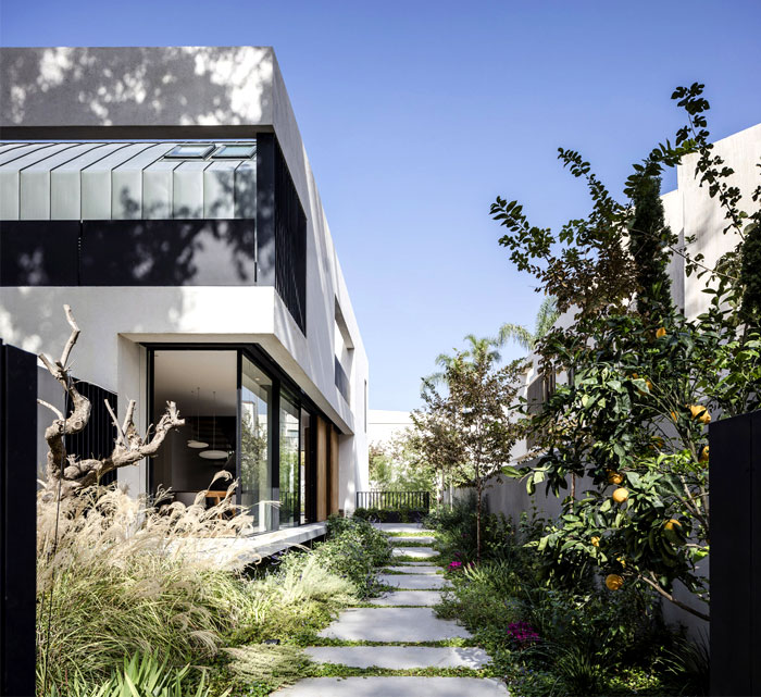 levin packer architects urban house 2