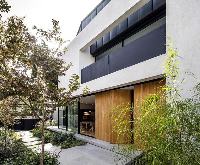levin packer architects urban house 21