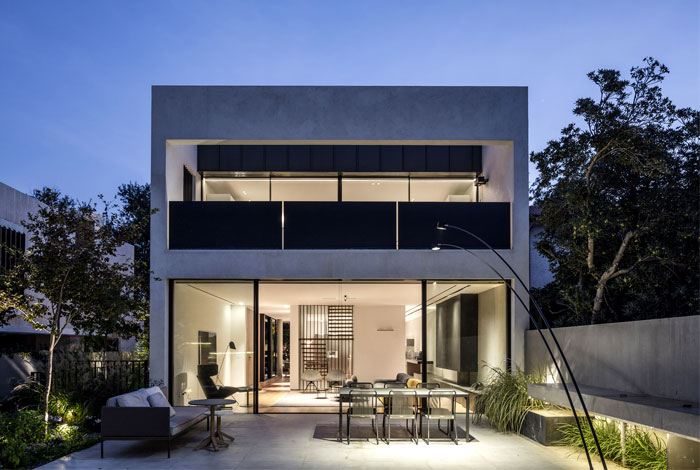 levin packer architects urban house 3