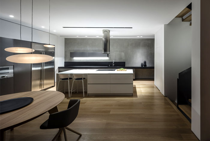levin packer architects urban house 5