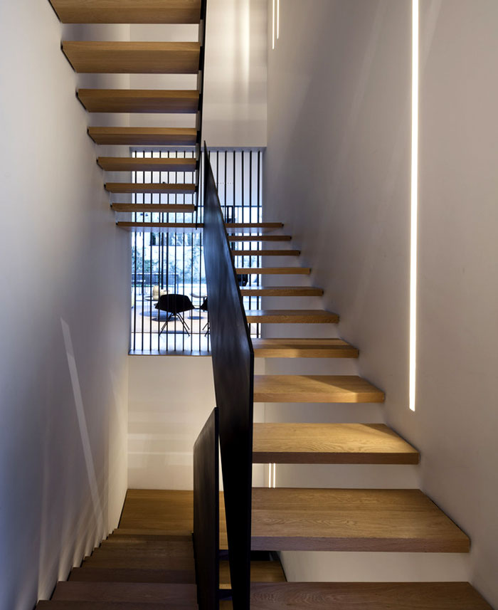 levin packer architects urban house 8