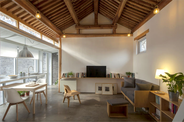 Oeu Chao Convert 30 Square Meters House Into A Family Home