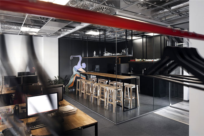 advertising agency office cache atelier 12