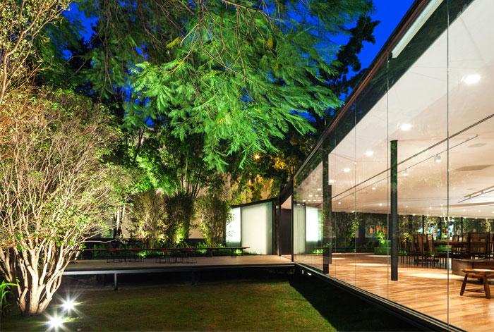 beautiful garden glass pavilion 12