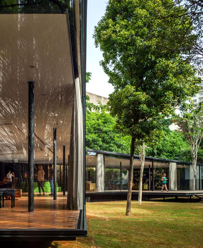 beautiful garden glass pavilion 2