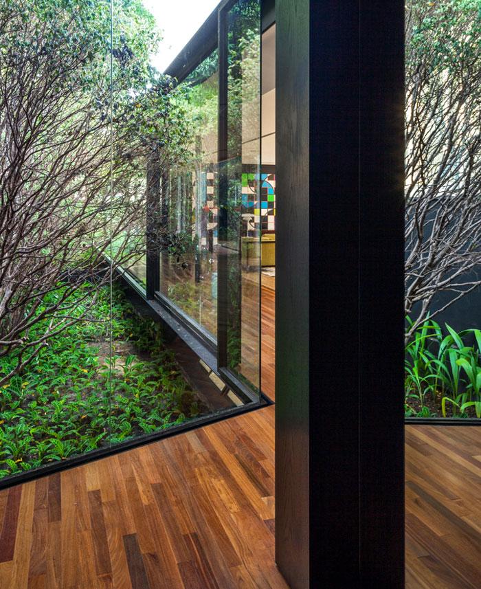 beautiful garden glass pavilion 7