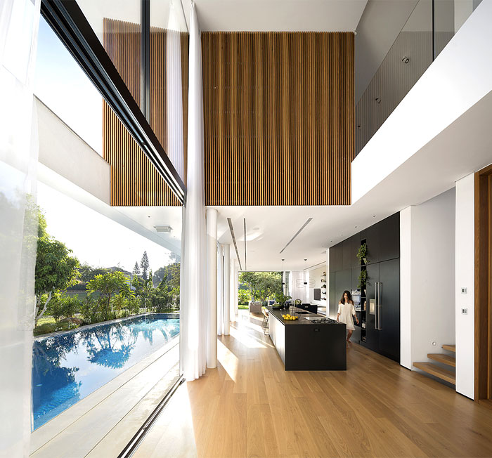 contemporary L shaped house 5