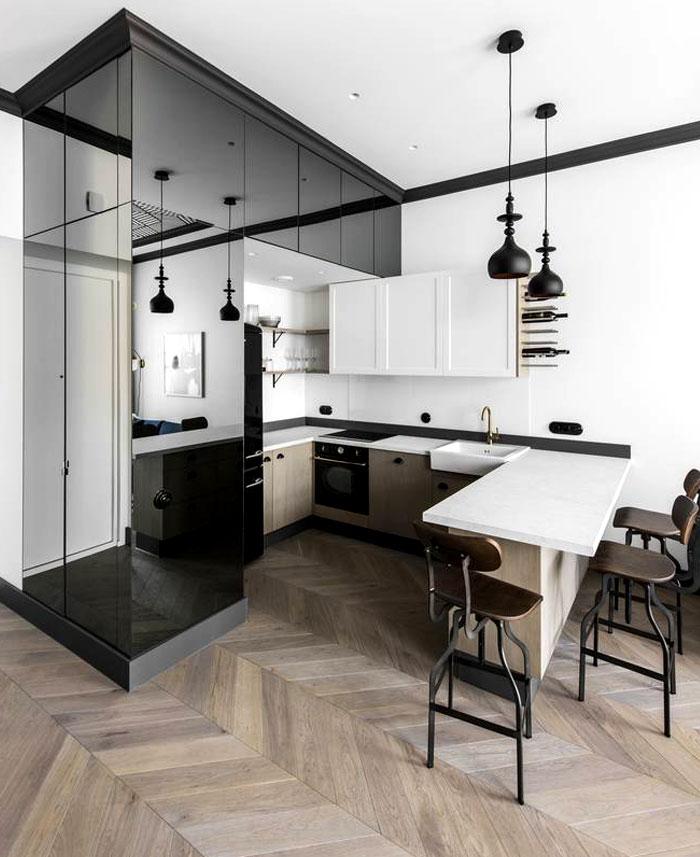 interjero architektura vilnius apartment 13