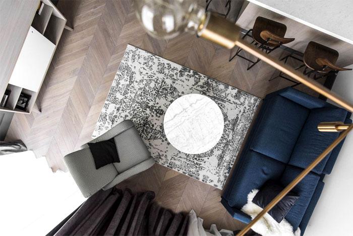 interjero architektura vilnius apartment 17