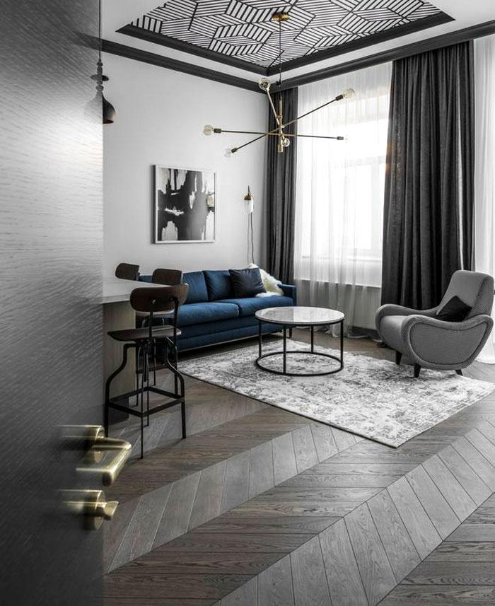 interjero architektura vilnius apartment 25