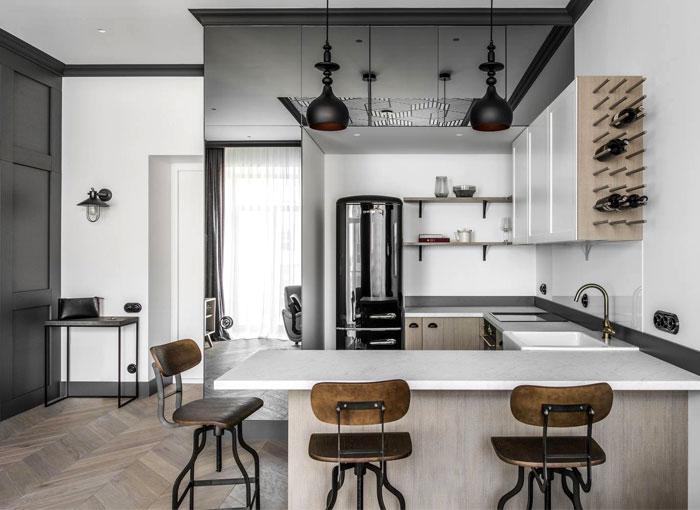 interjero architektura vilnius apartment 9