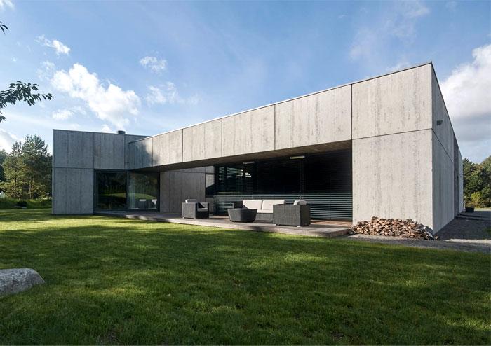 nebrau modern house nature inspired lithuania 23