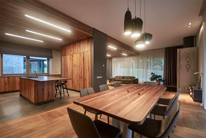 nebrau modern house nature inspired lithuania 6