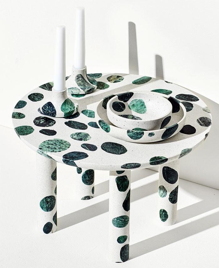 alberto bellamoli terrazzo tables