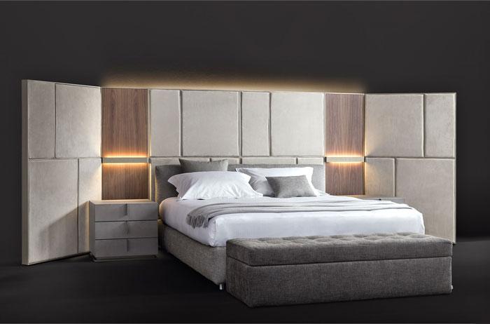behind bed wall unit destill 12