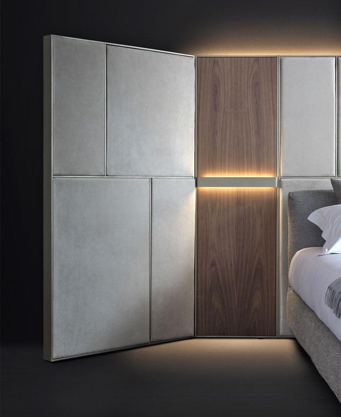 behind bed wall unit destill 13