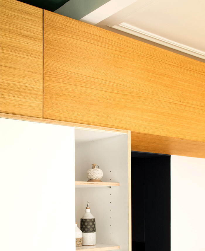 modern apartment paris 16