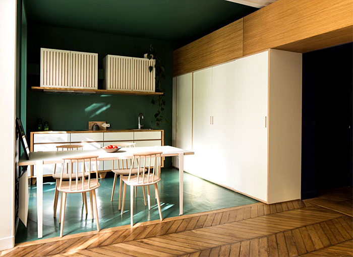 modern apartment paris 22
