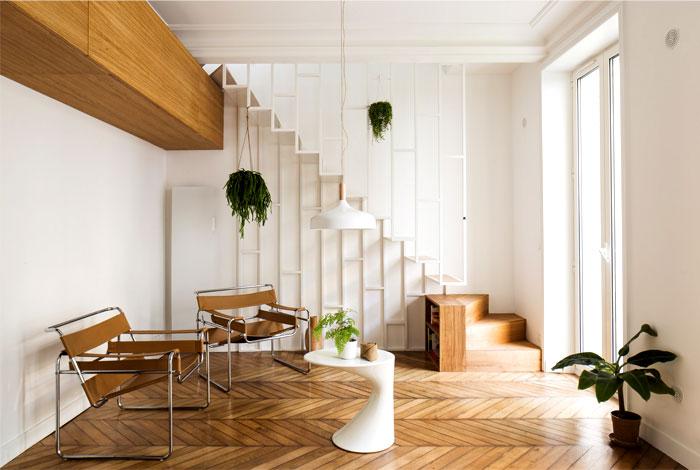 modern apartment paris 5