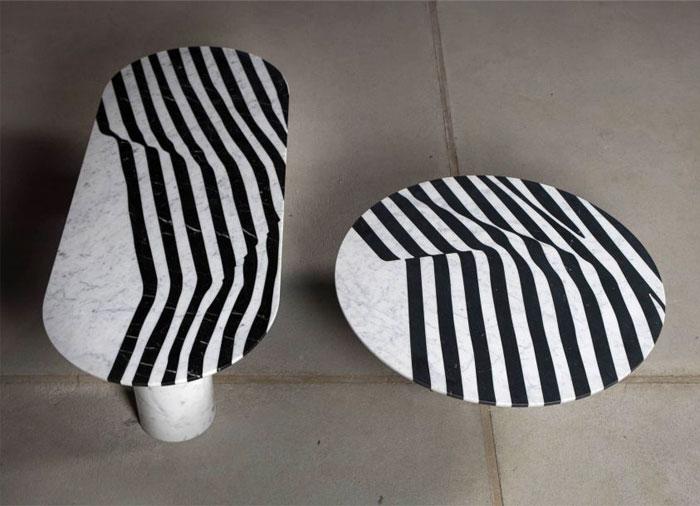 olga bielawska black white marble 1
