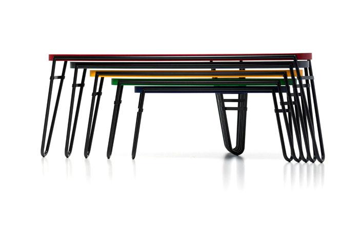 petalo tables charlotte perriand 44