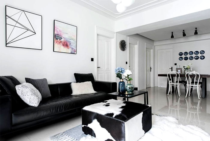 scandinavian style apartment remodeled RIS Interior 21