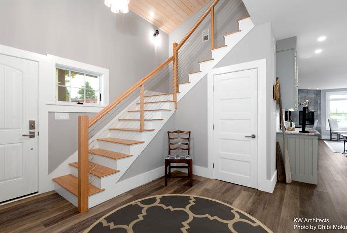 shingle style cottage kw architects 7