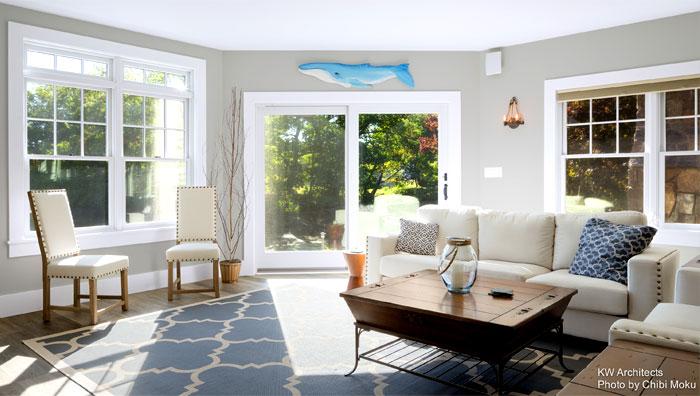 shingle style cottage kw architects 8