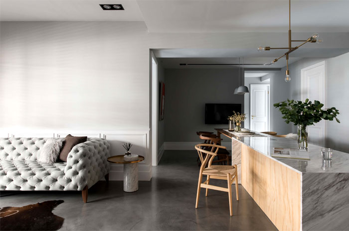 t.m design studio heart of paris apartment 18