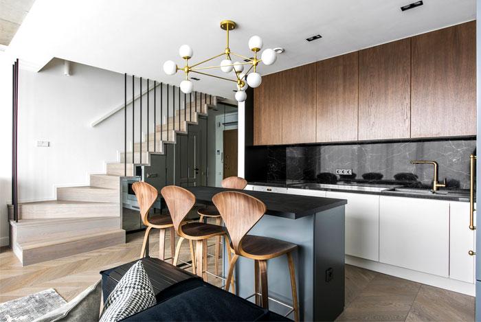two storey apartment vilnius inarch 14