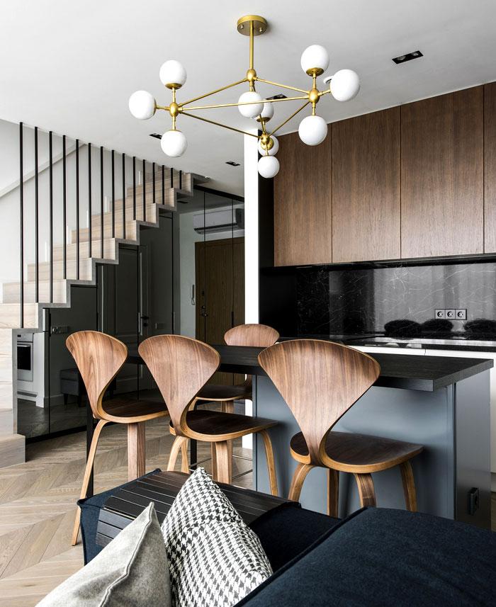 two storey apartment vilnius inarch 24