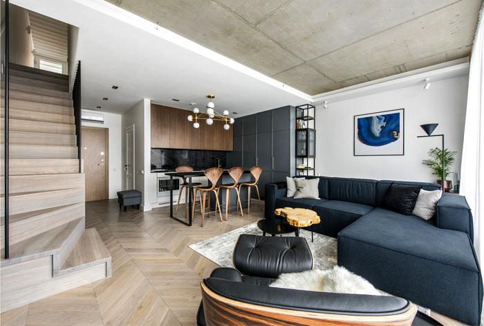 two storey apartment vilnius inarch 5