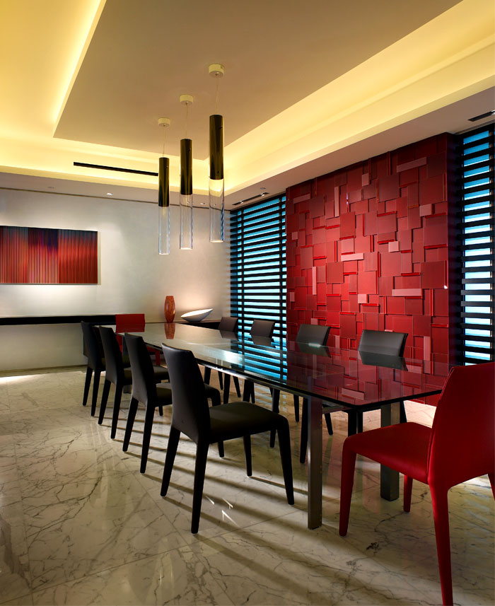 dining room 3d wall panels decor ideas 1