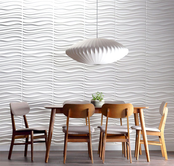 dining room 3d wall panels decor ideas 3