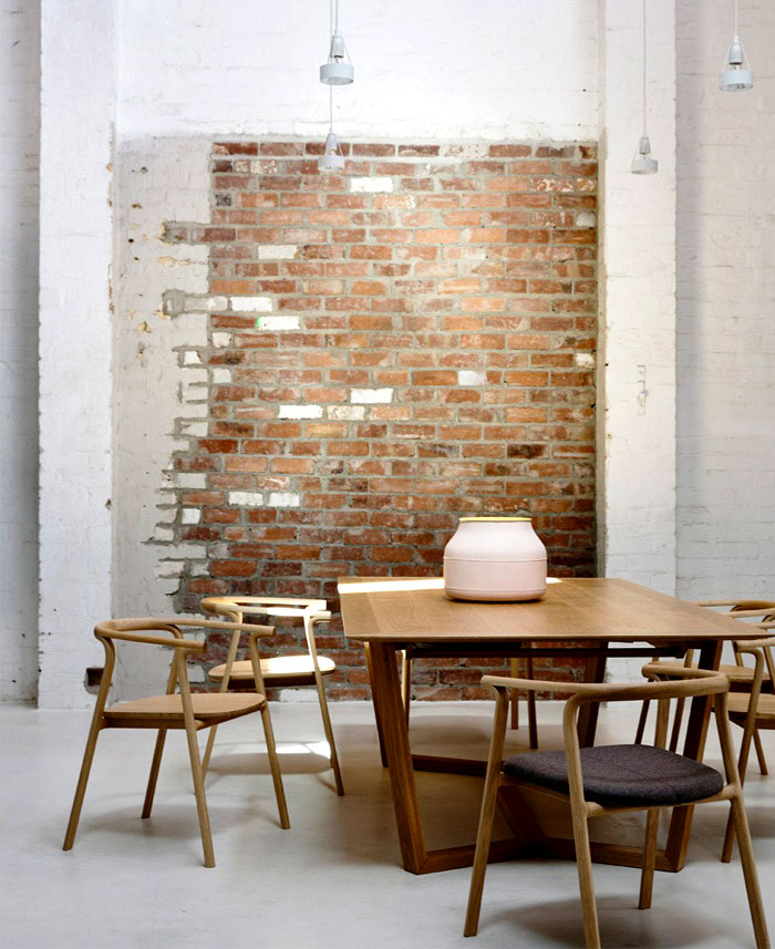 dining room brick walls decor ideas 6