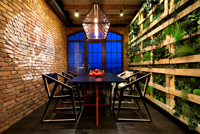 dining room green walls decor ideas 5