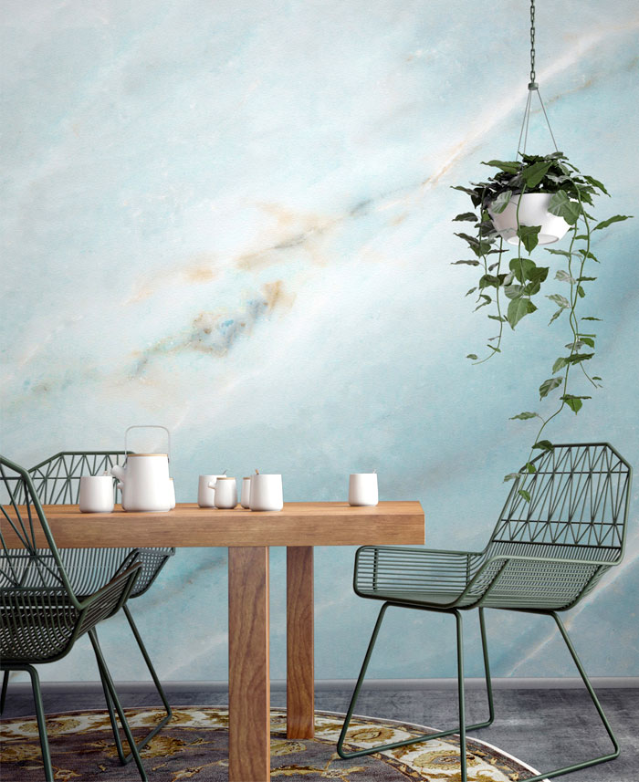 dining room murals wallpaper decor ideas 7