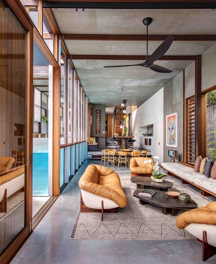 House In Australia Revolves Around A Stunning Swimming Pool Interiorzine