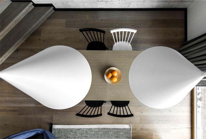 open floor plan project interjero architektura 13