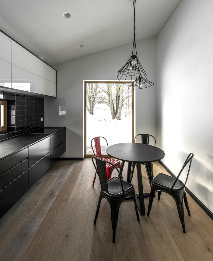 open floor plan project interjero architektura 14