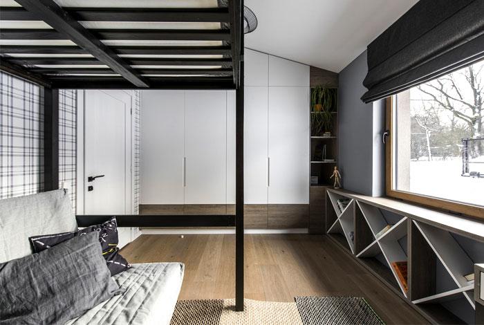open floor plan project interjero architektura 19