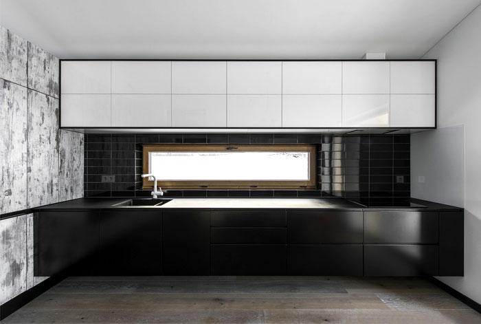open floor plan project interjero architektura 2