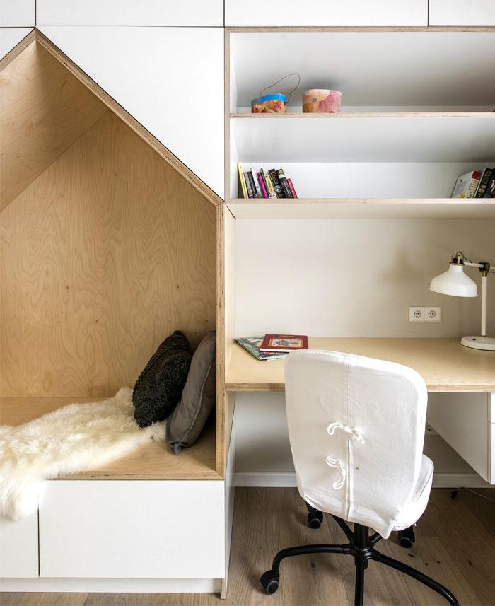 open floor plan project interjero architektura 27