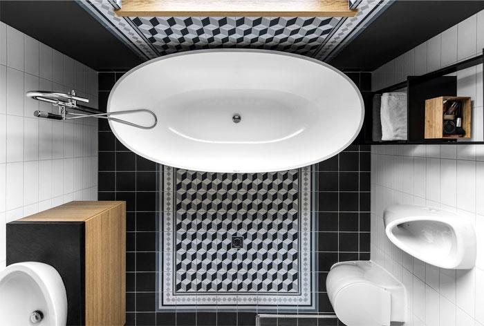open floor plan project interjero architektura 28